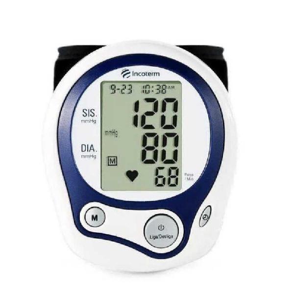 Medidor de pressão arterial incoterm digital pulso - mp100