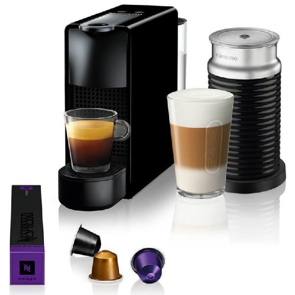 Máquina de café nespresso essenza mini c30 preta com
