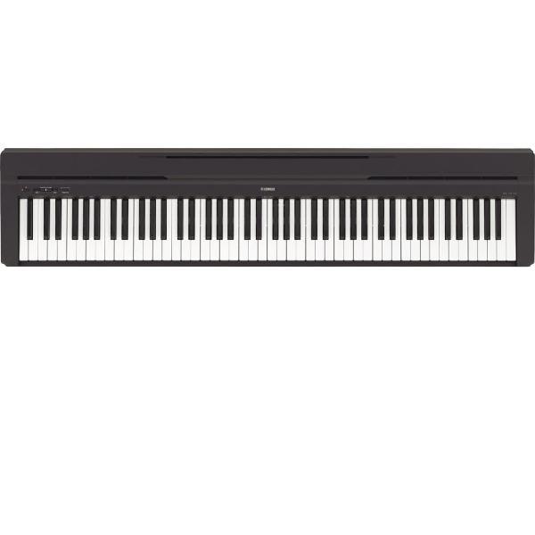Piano digital yamaha p-45b compacto com 88 teclas 10 sons e