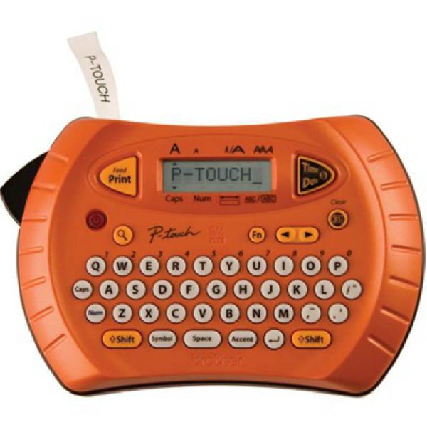 Rotulador eletrônico brother pt70 portátil funciona à