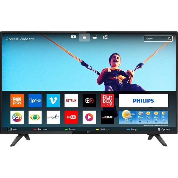 "Smart tv 43"" philips led full hd 43pfg5813/78 ultra slim"