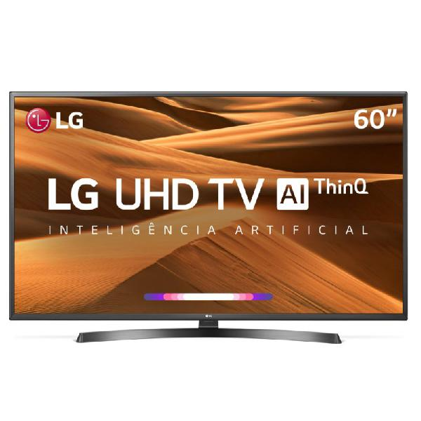 "Smart tv lg 60"" ultra hd 4k 60um7270 thinq al hdr ativo dts"