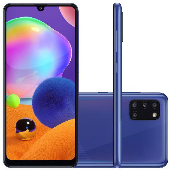 Smartphone Samsung Galaxy A31 Azul Dual Chip Câmera