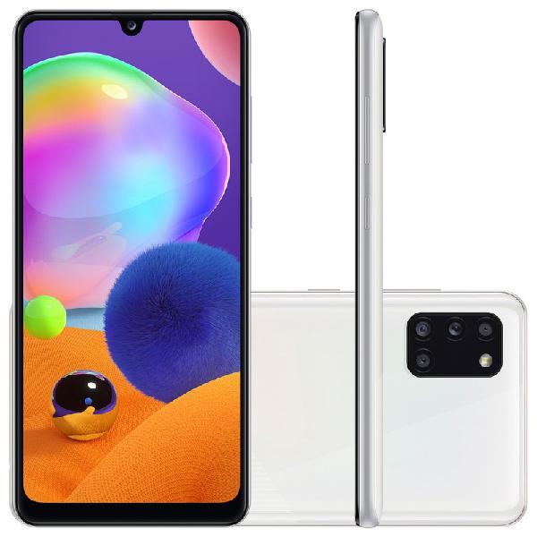 Smartphone Samsung Galaxy A31 Branco Dual Chip Câmera