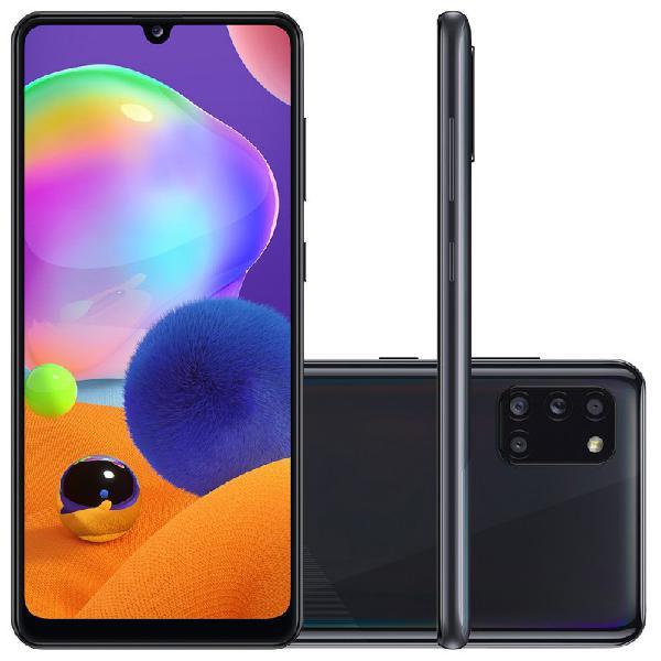 Smartphone samsung galaxy a31 preto dual chip câmera