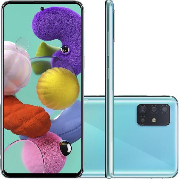 """Smartphone samsung galaxy a51 128gb 6.5"""" 4gb ram câmera"""