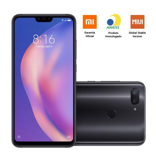 Smartphone xiaomi mi 8 lite 6.26 pol ram 4gb 64gb 4g dual