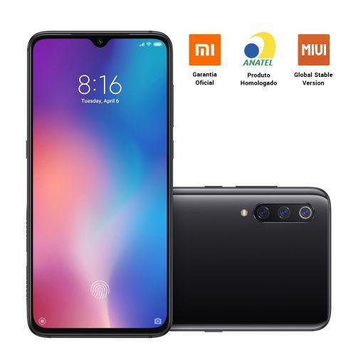 Smartphone xiaomi mi 9 6.39pol ram 6gb 128gb 4g c/u00e2mera
