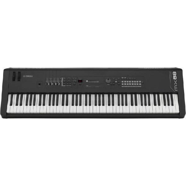 Teclado sintetizador yamaha mx88 bk preto 7 oitavas e 88