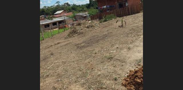 Terreno vendo aceito de moto como parte do pagamento