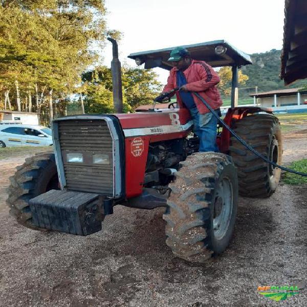 Trator massey ferguson 275 4x4 ano 01