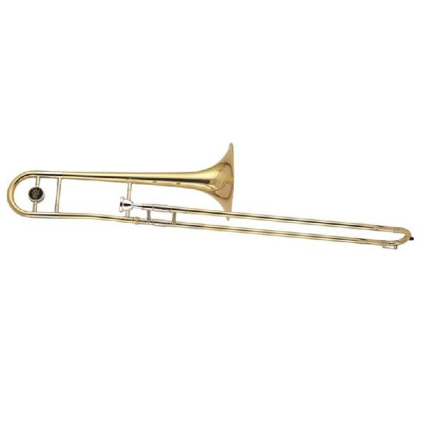 Trombone de vara sib laqueado dolphin com estojo 5333