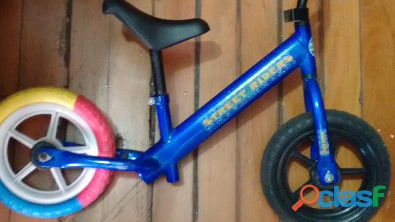 Bicicleta sem pedal de equilíbrio balance bike