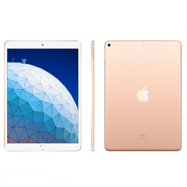 "Ipad air 3 apple tela retina de 10.5"" wi-fi 64 gb dourado"