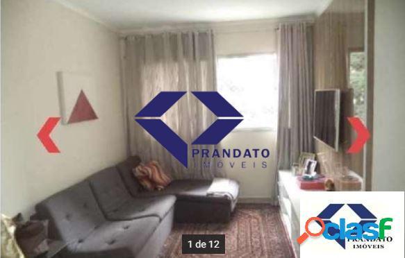 Apartamento moema passaros 60m² 2 quartos 1 vaga