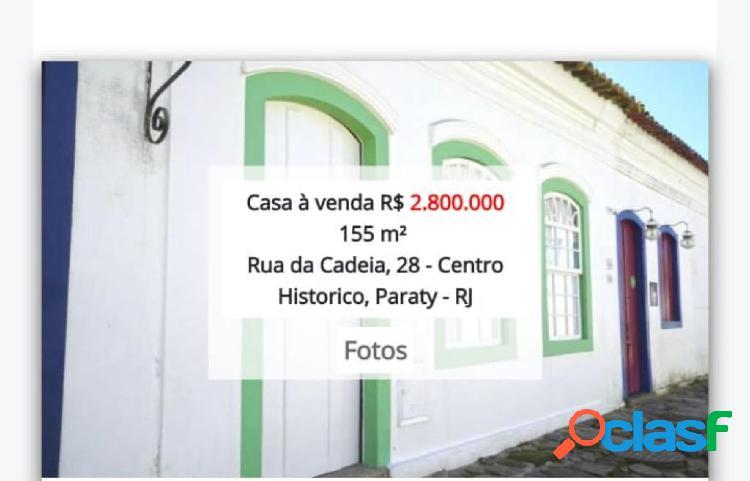 Linda casa no centro histórico de paraty!