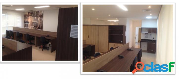 Linda sala decorada e mobiliada vende ou aluga em alphaville