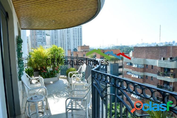 Moema, apartamento com 4 quartos à venda, 252 m2 por r$2.750.000,00