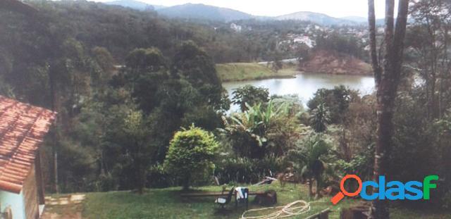 Chácara linda vista para represa de mairiporã 5 km da cidade!