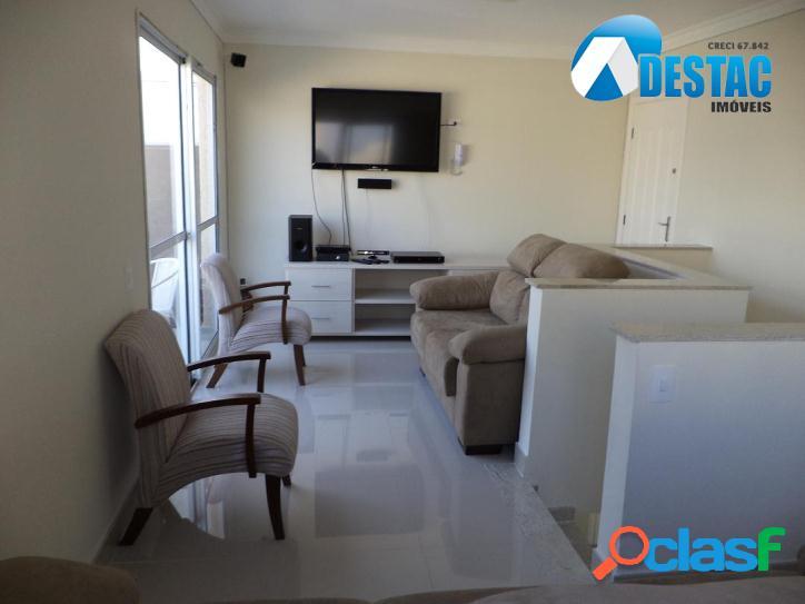 Cobertura duplex - 3 dormitórios - 1 suíte - 2 vagas