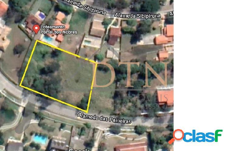 Terrenos no condomínio portal dos nobres 1980m² - laranja azeda - atibaia