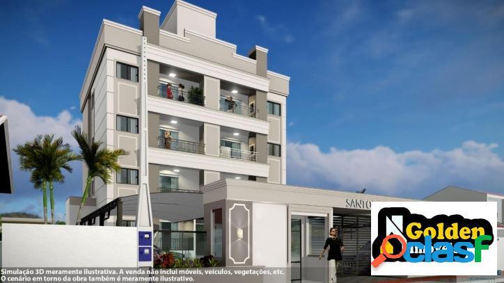 Apartamento de 2 dormitórios no mata atlântica em tijucas-sc
