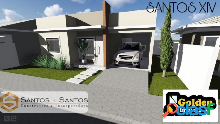 Casa 2 dormitórios condomínio Fechado - Centro Tijucas SC 1