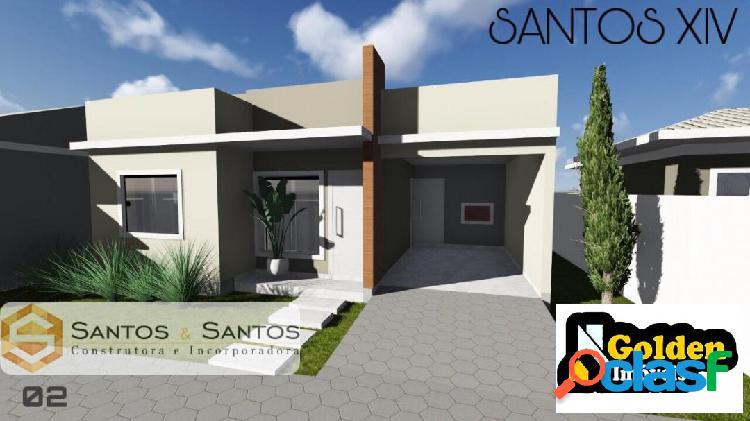 Casa 2 dormitórios condomínio Fechado - Centro Tijucas SC 2