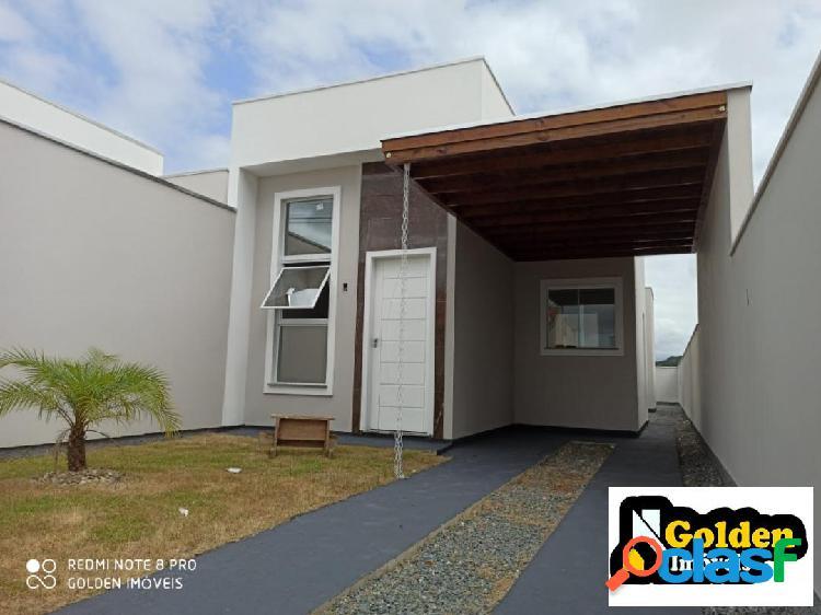 Casa 3 dormitórios no bairro universitário em tijucas sc
