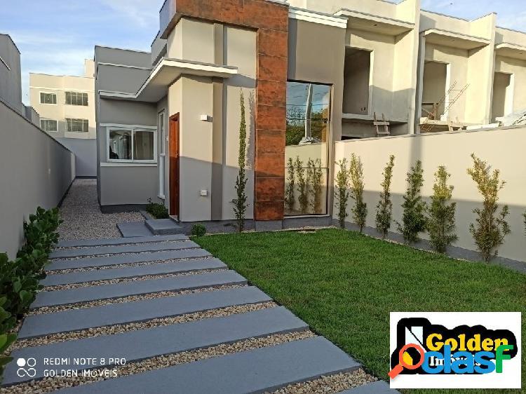 Casa 3 dormitórios no bairro xv de novembro em tijucas sc