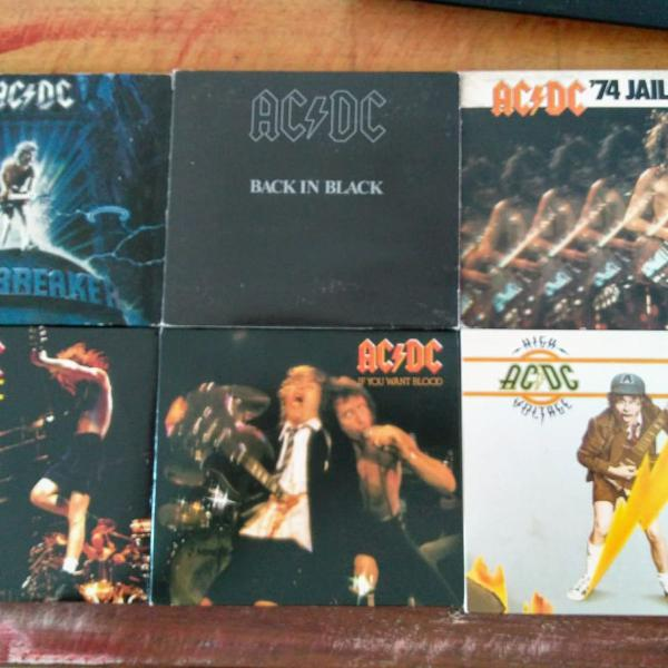 Ac/dc - 6 cds