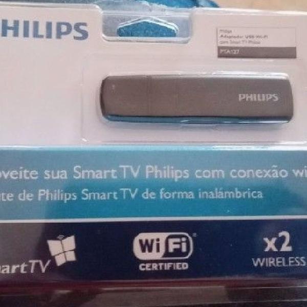 Adaptador usb wi-fi para smart tv philips pta127