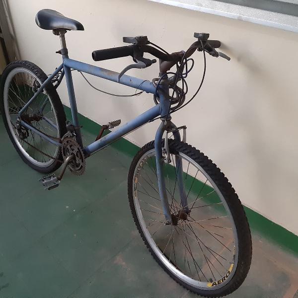 Bicicleta azul, azul bicicleta