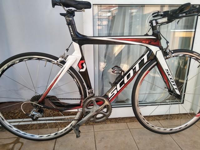 Bike de triathlon scott plasma