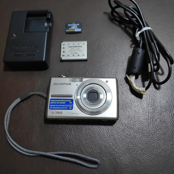 Câmera digital olympus x-785