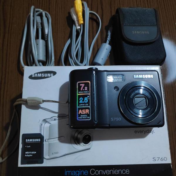 Câmera samsung s750