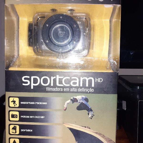 Câmera e filmadora de água