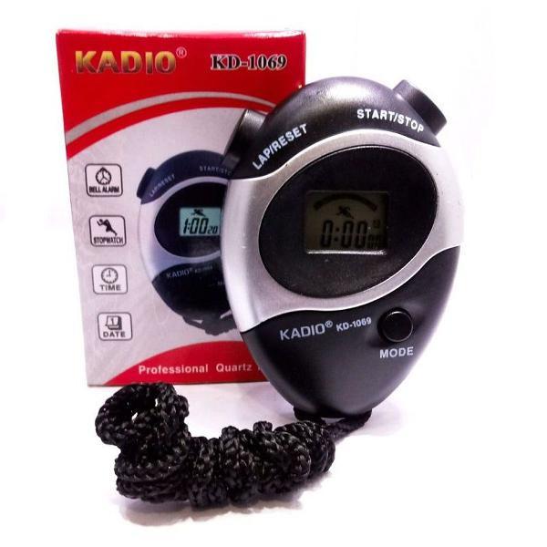 Cronometro digital kadio alarme, esporte,cordão data e hora
