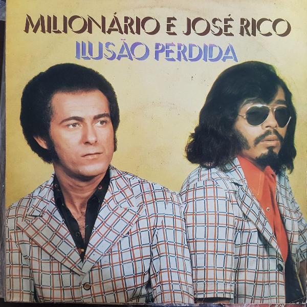 """Disco de vinil (lp) milionário e josé rico """"ilusão"""