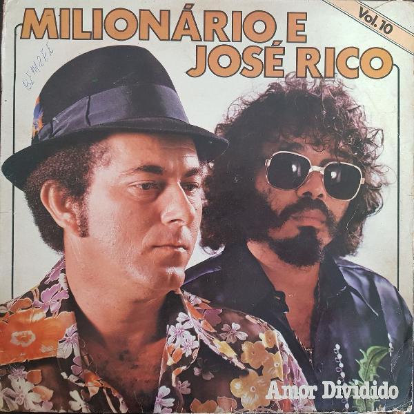 Disco de vinil (lp) milionário e josé rico volume 10