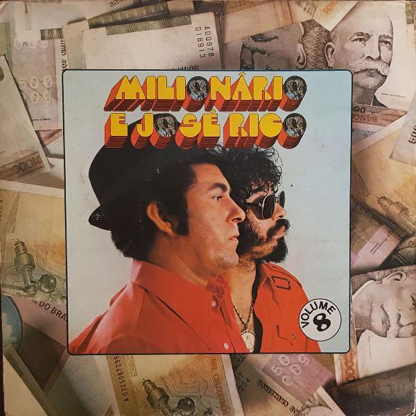 Disco de vinil (lp) milionário e josé rico volume 8