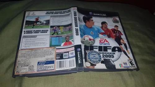 Fifa 2005 só a caixa e encarte para o game cube leia