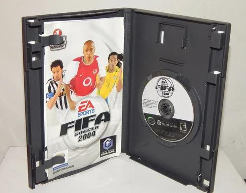 Fifa soccer 2004 game cube nintendo made in usa