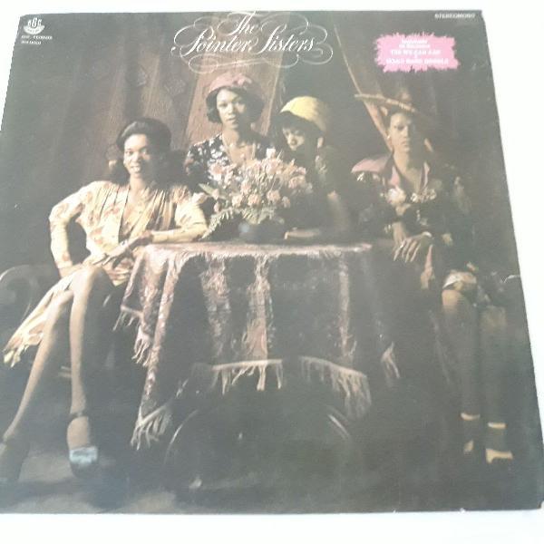Lp disco the point sisters- vinil 1974 pop black music