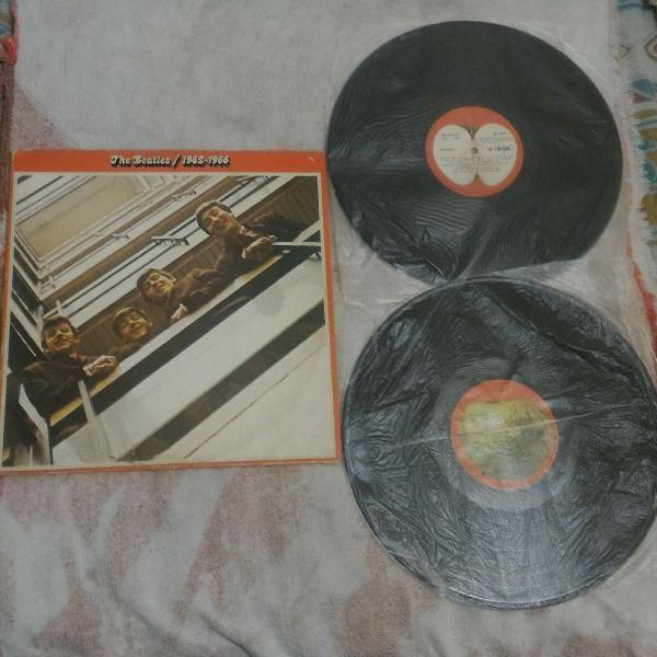 Lp vinil - 1962/1966 - the beatles (duplo com encartes)