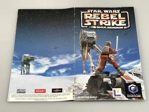Manual rebel strike star wars nintendo game cube
