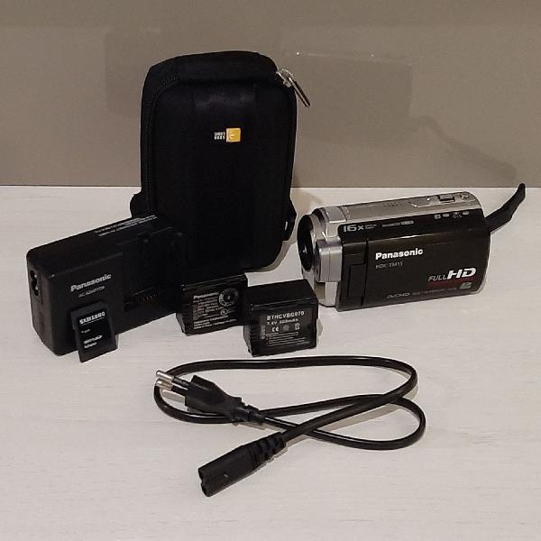 Panasonic câmera filmadora digital full hd hdc-tm15