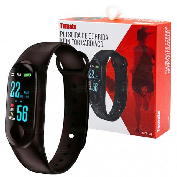 Pulseira de corrida monitor cardíaco pressão e oxímetro