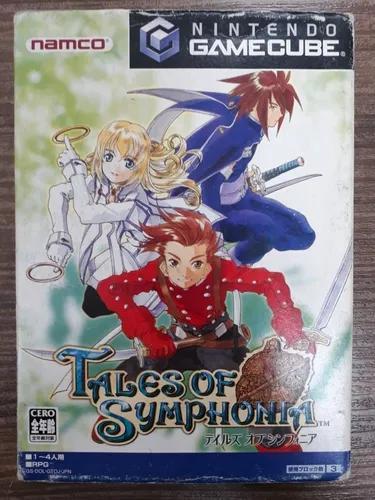 Tales of symphonia japonês nintendo gamecube