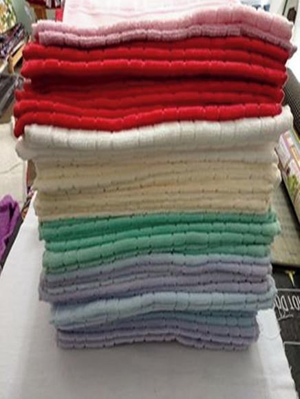 Toalha lavabo dohler para bordar - consultar cores antes
